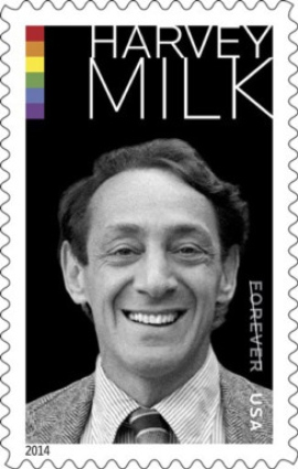 Harvey Milk Stamp Inspires Postal Employees LGBT Group & Book