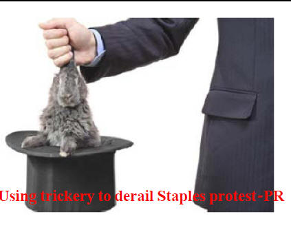 Usps Uses Trickery Tries To Derail Staples Boycott
