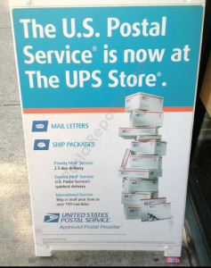 UPS is testing out the use of neighborhood stores as backup pick-up spots to improve service and lower its costs amid stiffening competition.