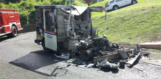 Trucks on fire: USPS Long Life Vehicles outlive their lifespan