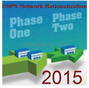 USPS explanation of the Network Rationalization Service Standard Impacts