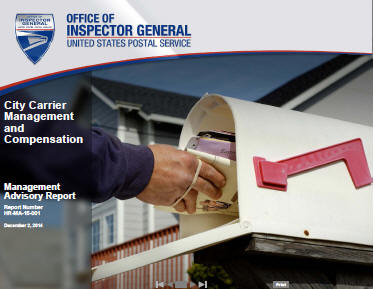 OIG says city carriers 48% of USPS expense needs new pay