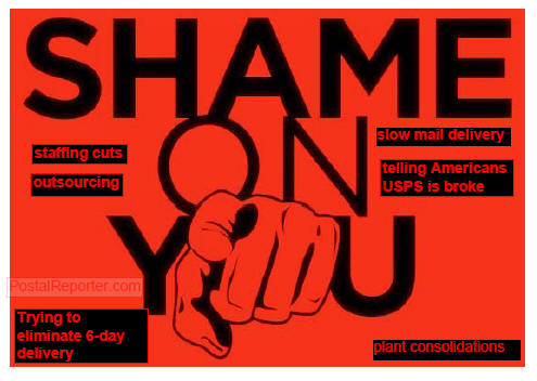 USPS, Shame on you!