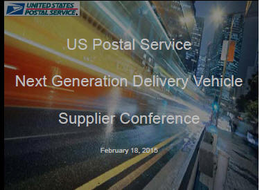 Here's What USPS Is Looking For In Its Next Generation Delivery Vehicle