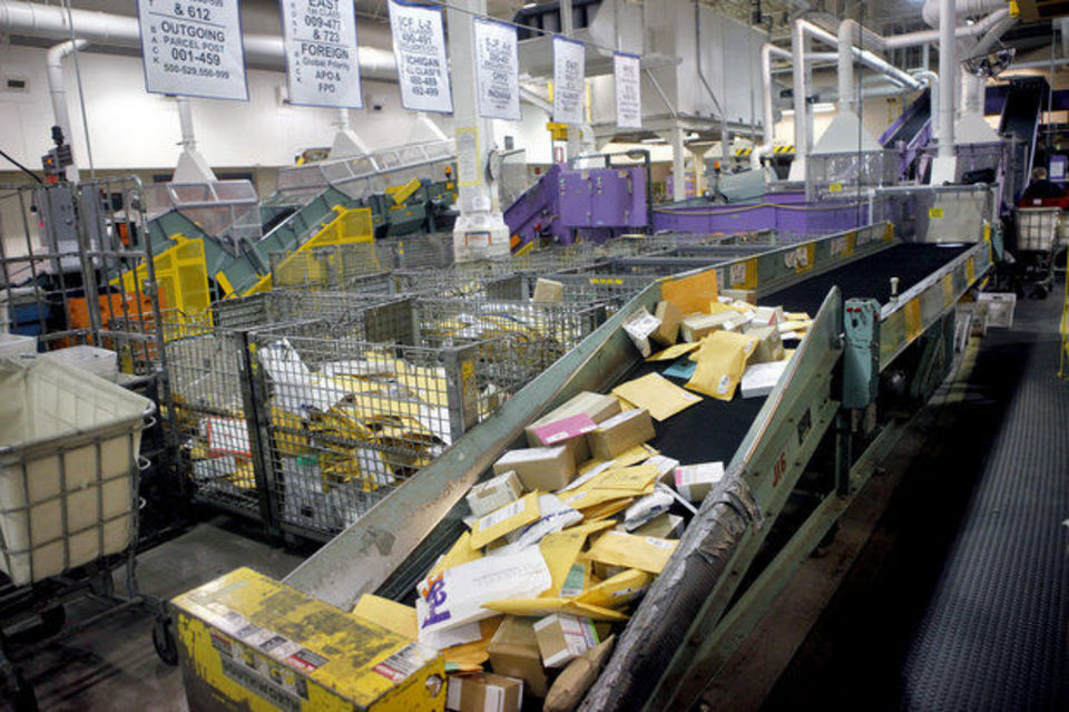 USPS seeking to expand package sorting capability with ... | 960 x 639 jpeg 152kB