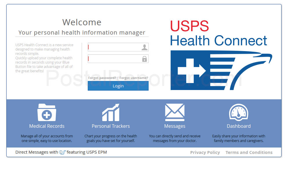 USPS Building a Database of Postal Employees Health Information
