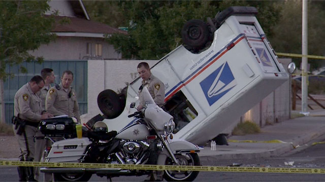 video  postal worker  retired vet killed in crash was
