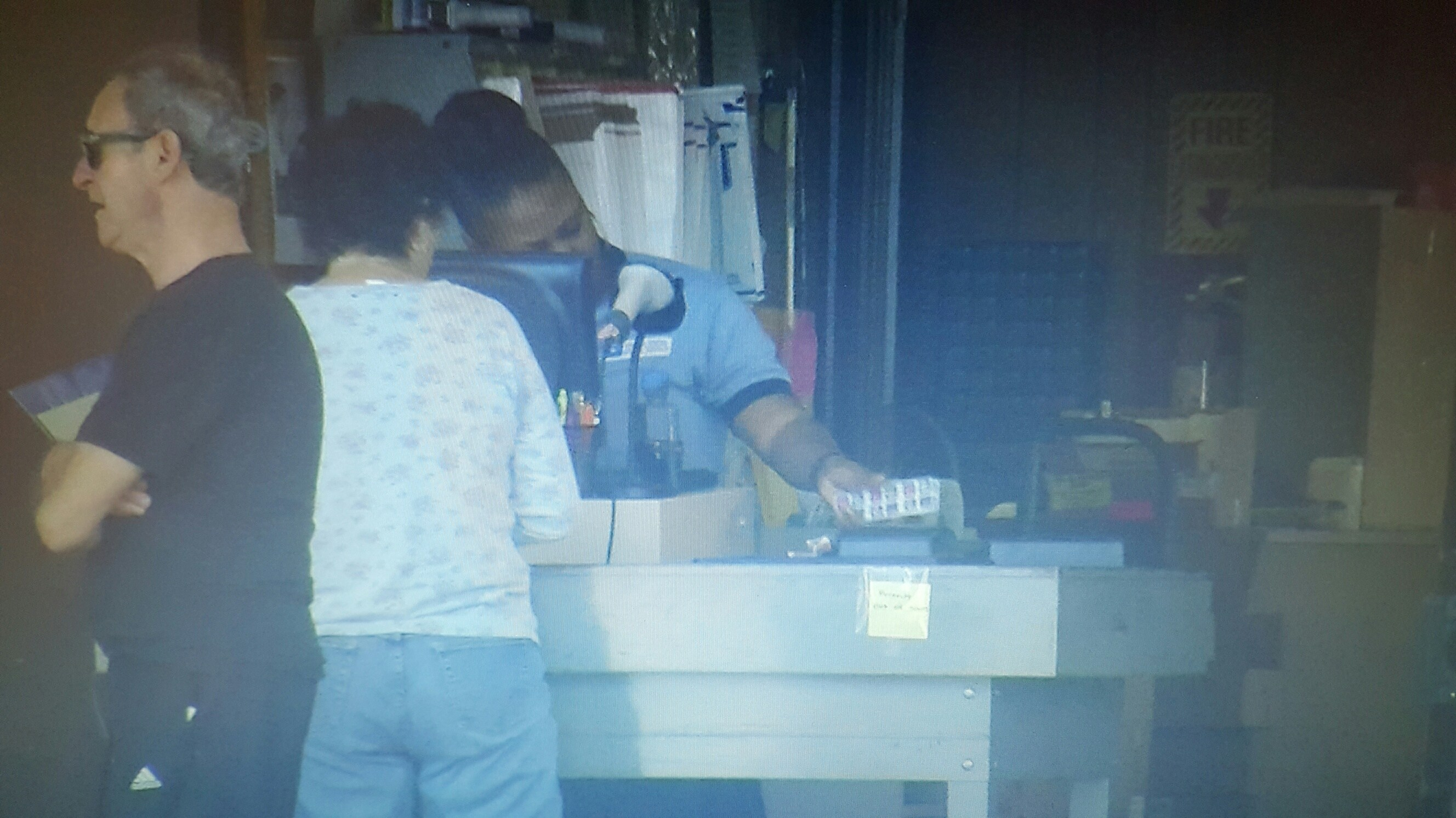 Video: Postal Workers still working in Maryland Post Office