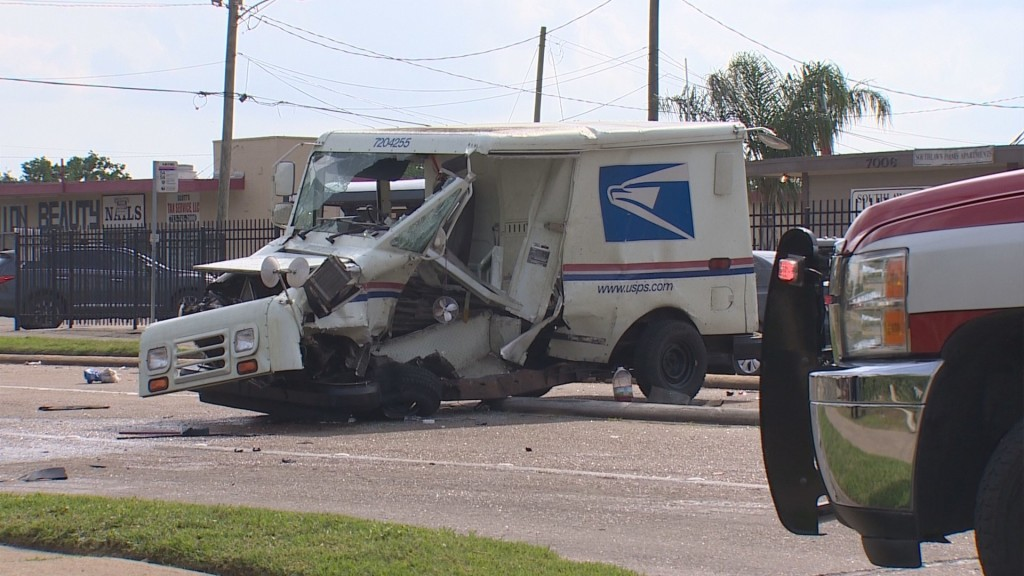 Video: Houston letter carrier in critical condition after being hit by alleged street racers