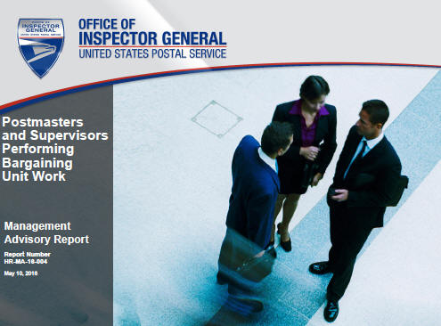 OIG recommends USPS monitor management performing craft work and vacancies