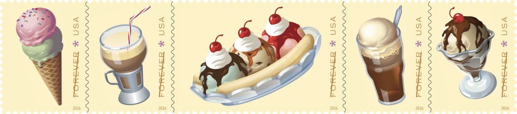Postal Service to issue Vintage Soda Fountain Stamps