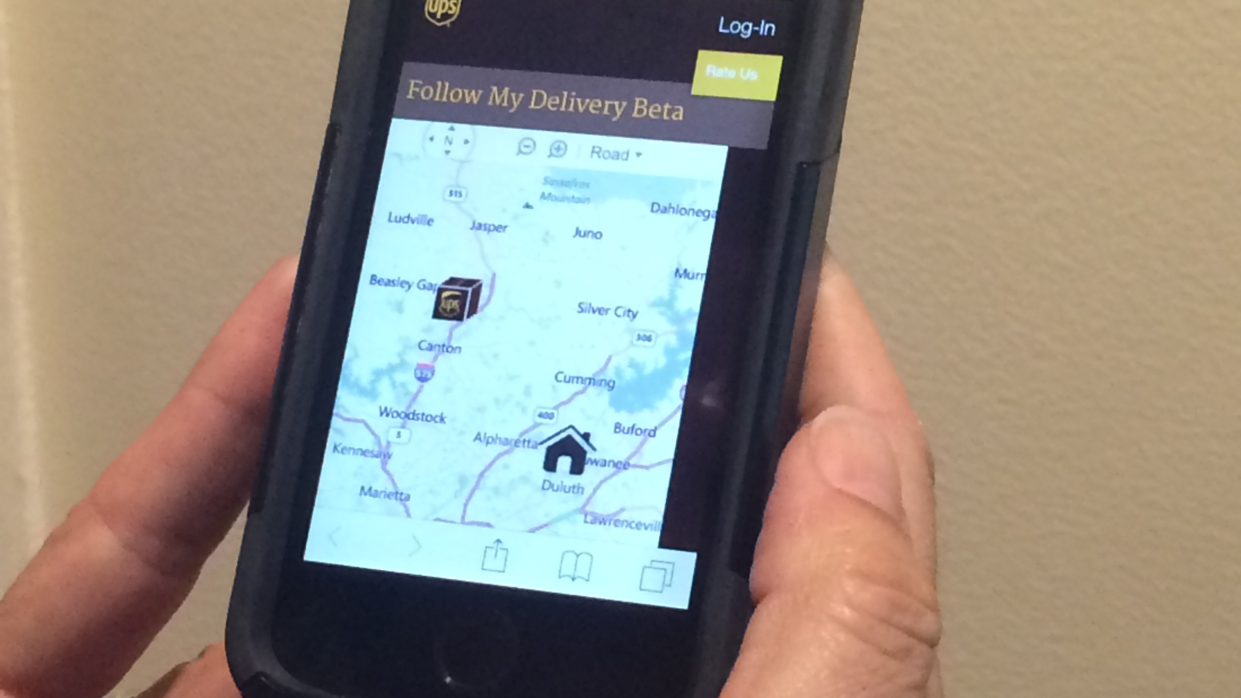 UPS My Choice Service Enables Users To Track Location Of Their Delivery On Live Map