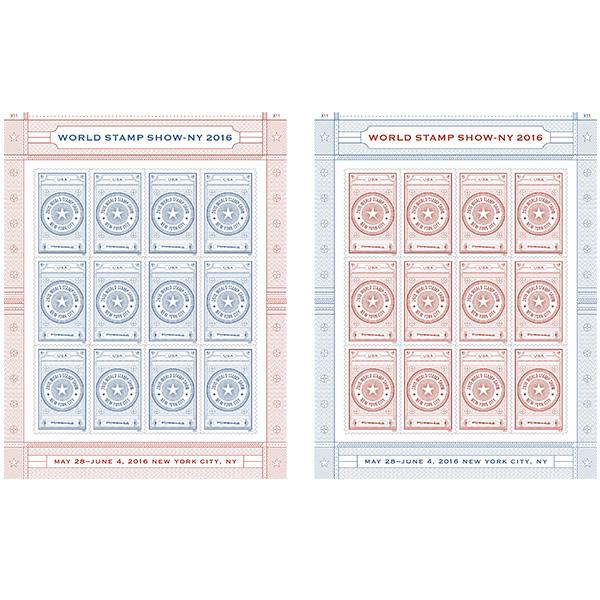 U.S. Postal Service Dedicates World Stamp Show-NY 2016 Forever Stamp Folio