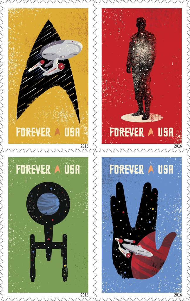 USPS: Star Trek Forever Stamps to be Dedicated Sept. 2