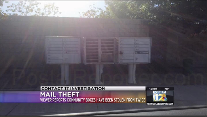 USPS: 450 mailbox thefts in Bakersfield CA since April 1