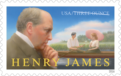 Henry James Is 31st Inductee in U.S. Postal Service's Literary Arts Stamp Series