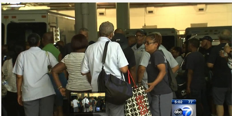 Video: Update - Almost 40 postal employees sickened by heat at Chicago's River North facility