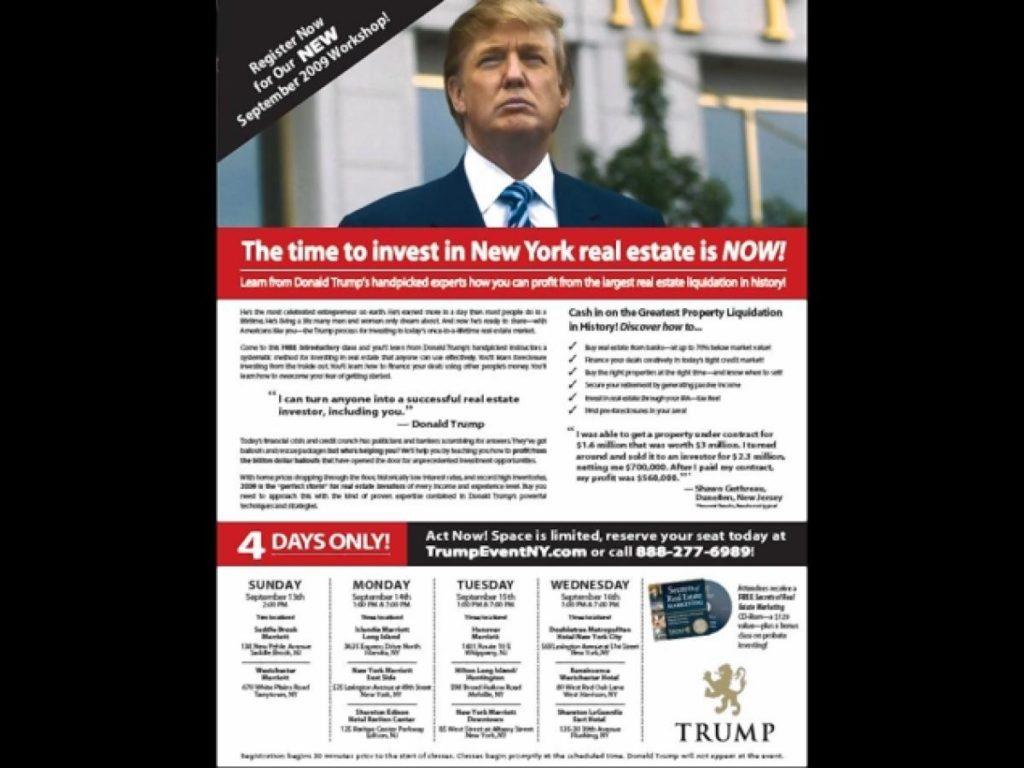New York Judge halts retired postal worker's Trump University lawsuit