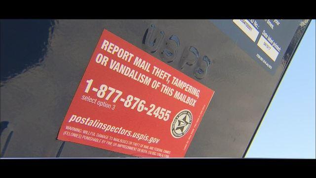 usps mailbox theft