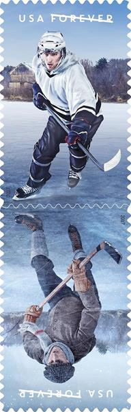 History of Hockey stamps