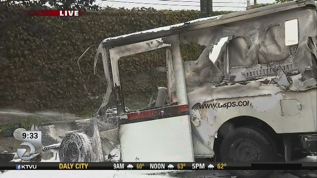 Mail_truck_catches_fire_in_San_Pablo