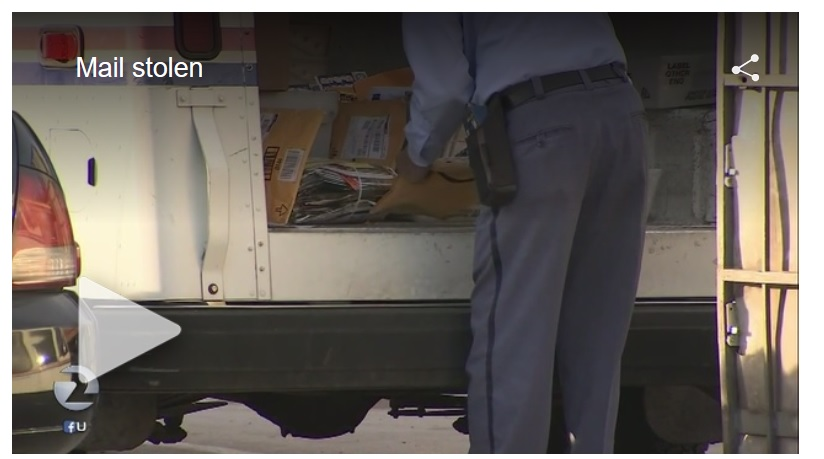 Increase in thefts from San Jose CA mail trucks