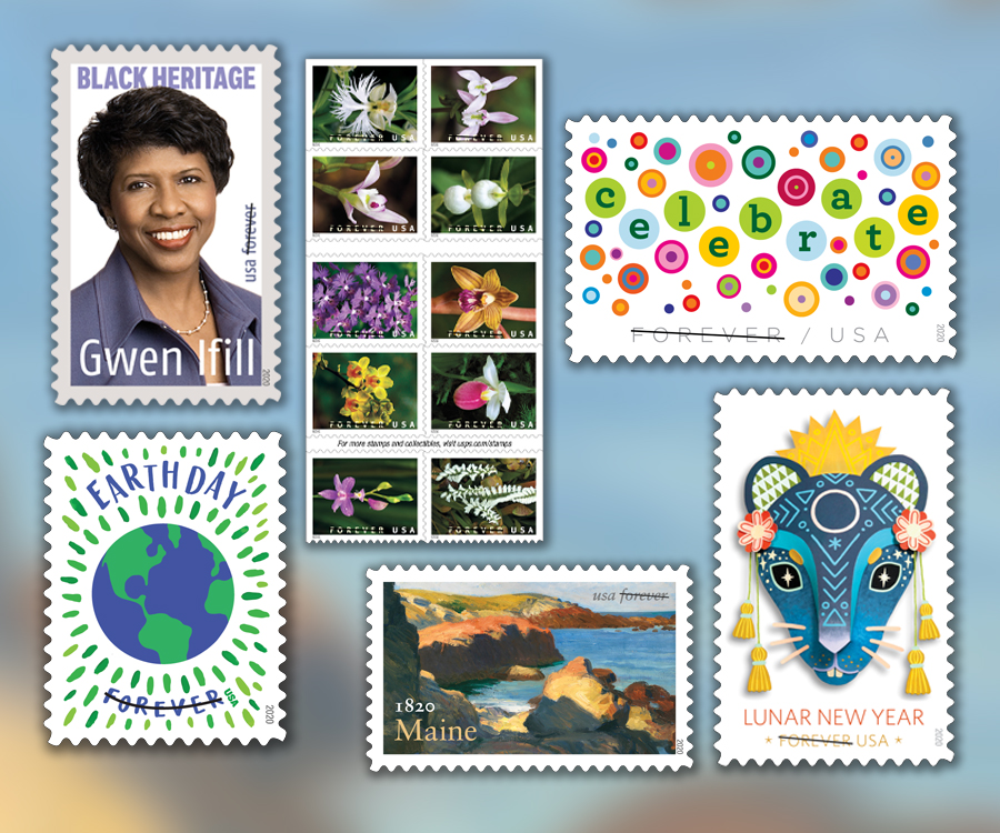 Usps 2020 Christmas Stamps USPS announce release dates for several 2020 stamps